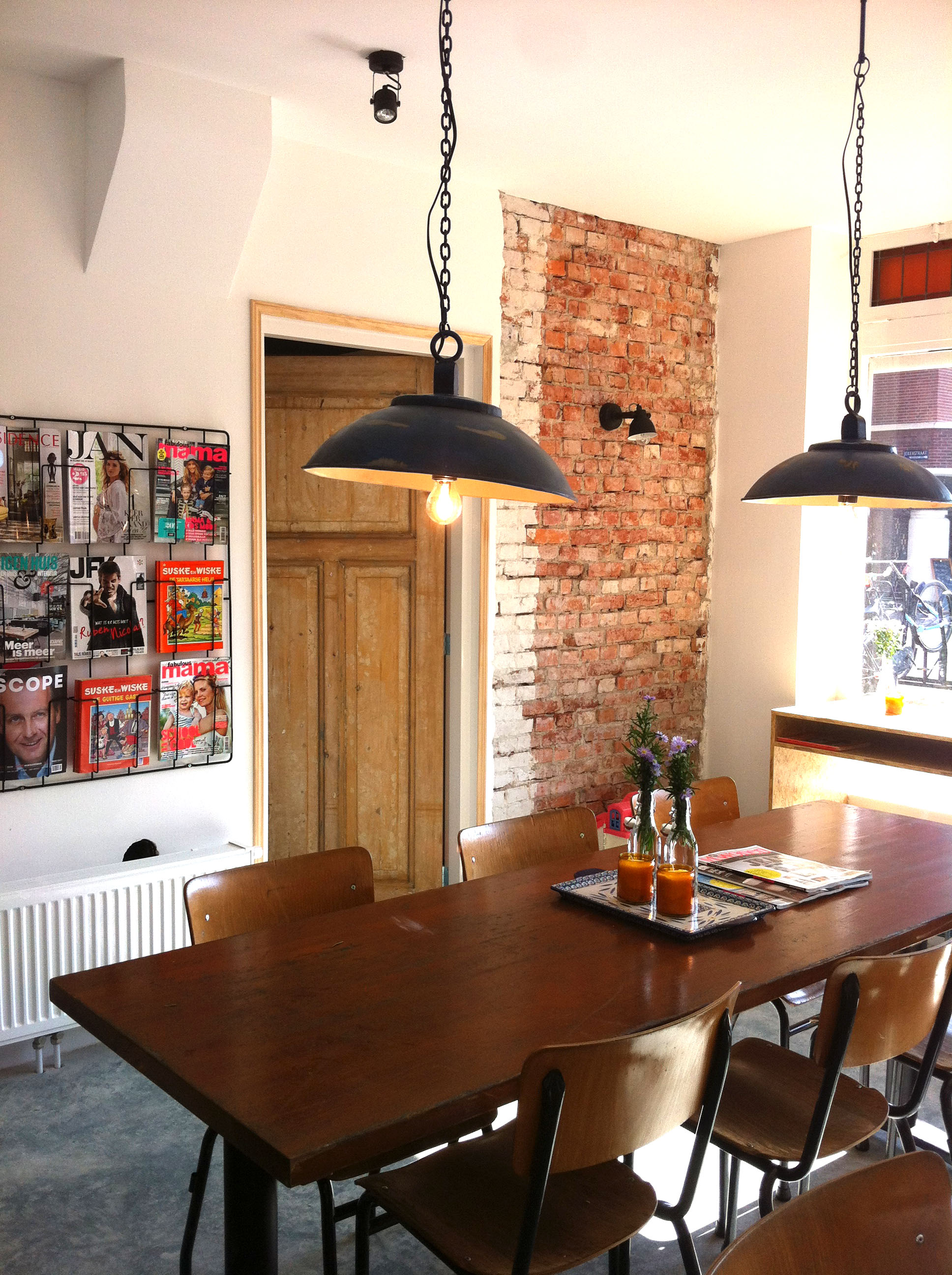 Interieurontwerp - Vintage keukenmeubilair ...
